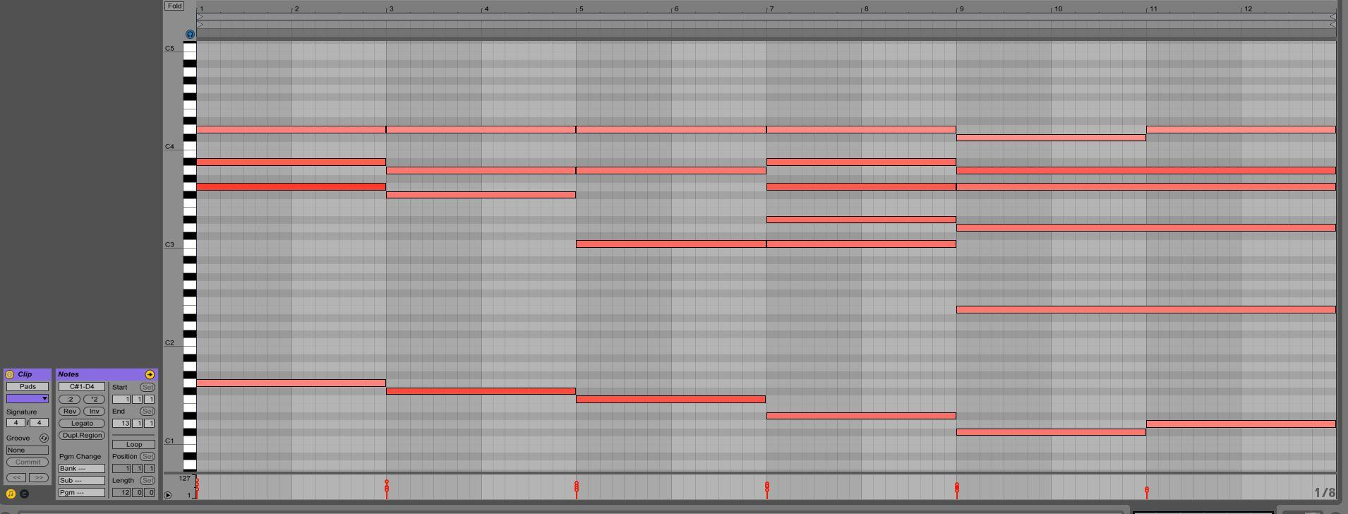 How to make a big trance arp lead myloops as you can see this chord progression spans over 12 bars and contains 6 different chord changes each one lasting 2 bars below you can hear what it sounds hexwebz Gallery
