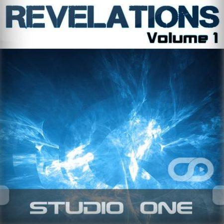 Revelations Volume 1 (Static Blue) (Studio One Template)