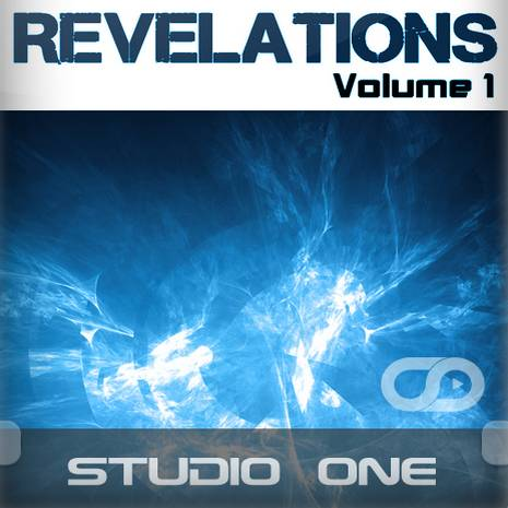 Revelations Volume 1 (Static Blue) (Studio One Template)