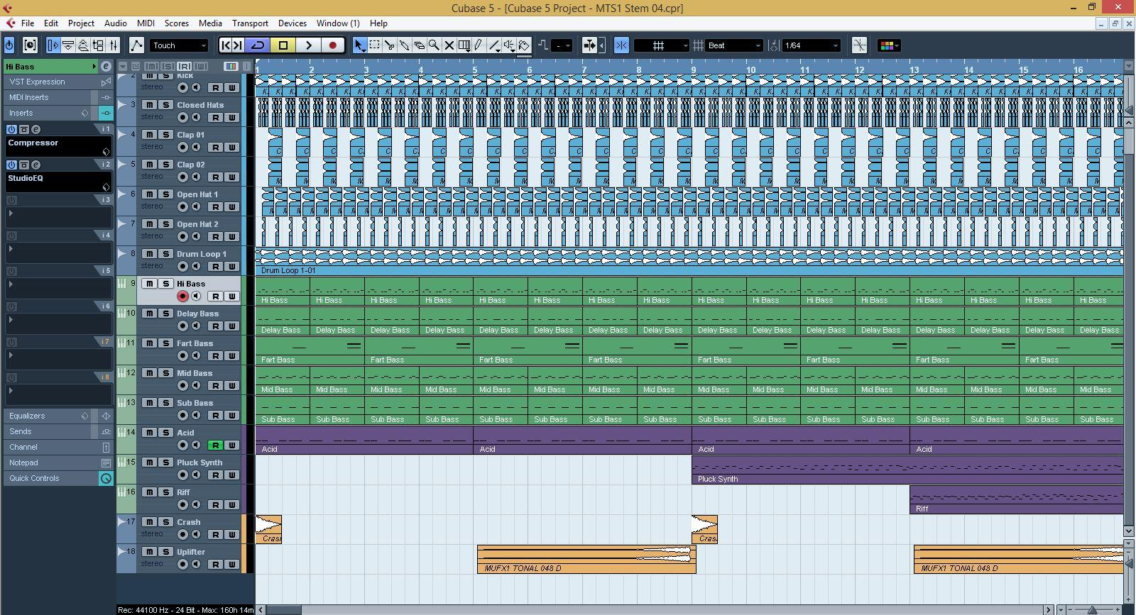 Cubase Templates Archives - Myloops