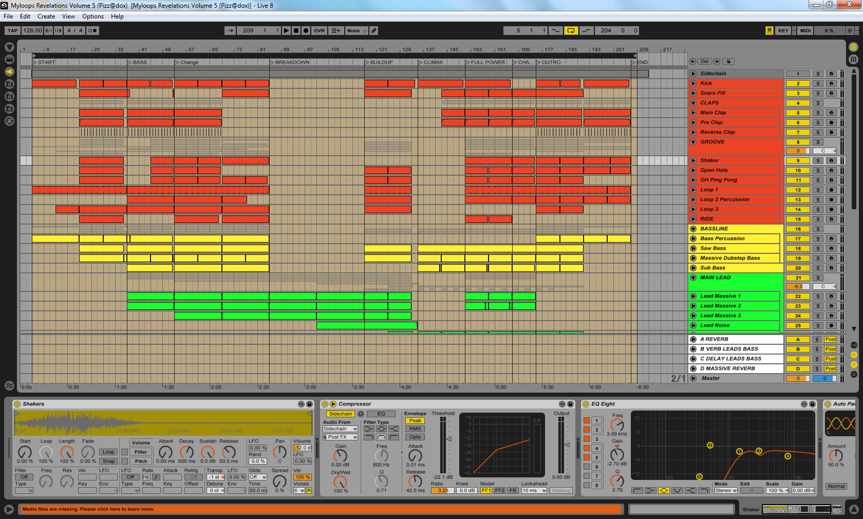 Nu Trance Ableton Live Template By Pizzadox Mr5