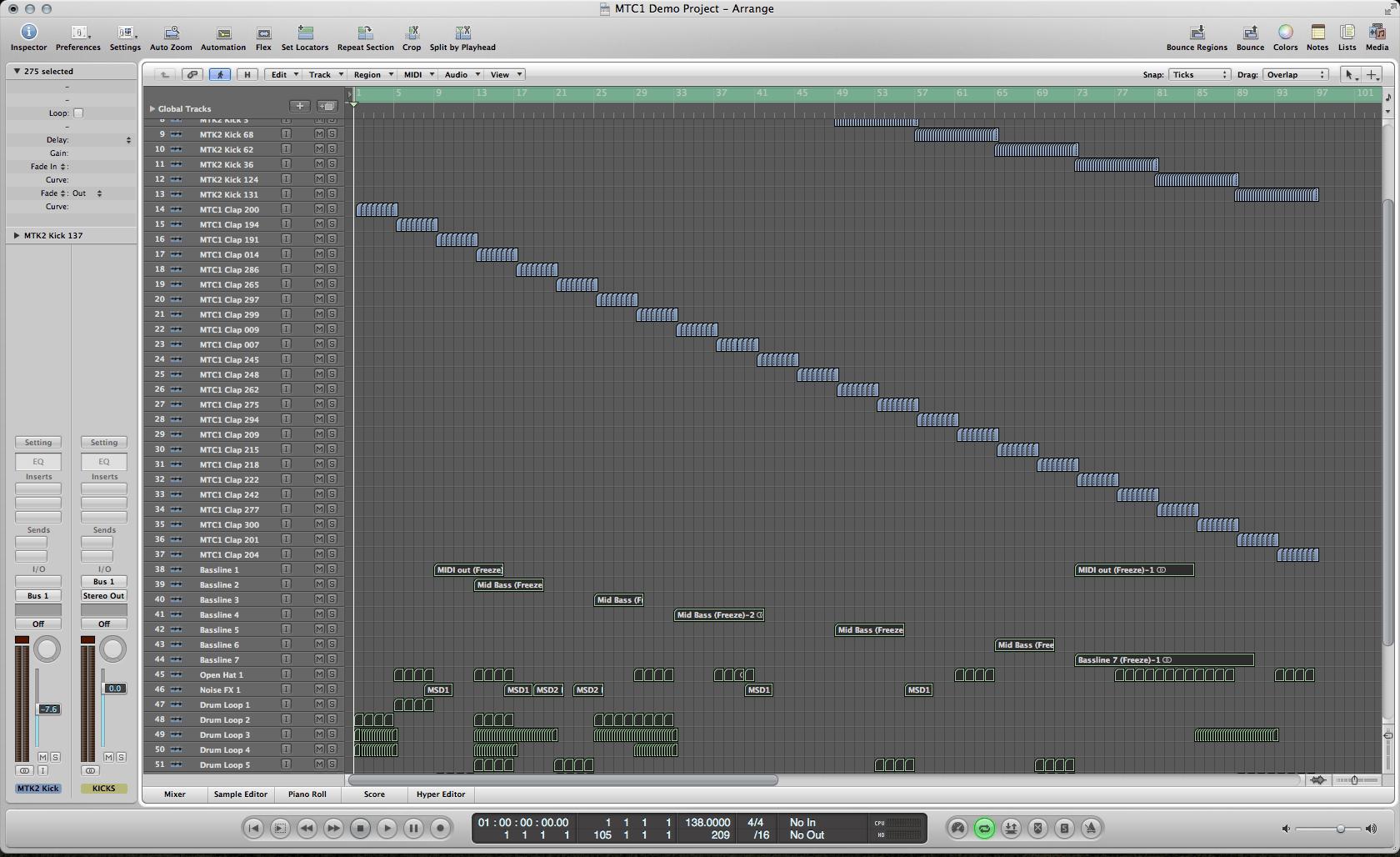 logic pro sample packs