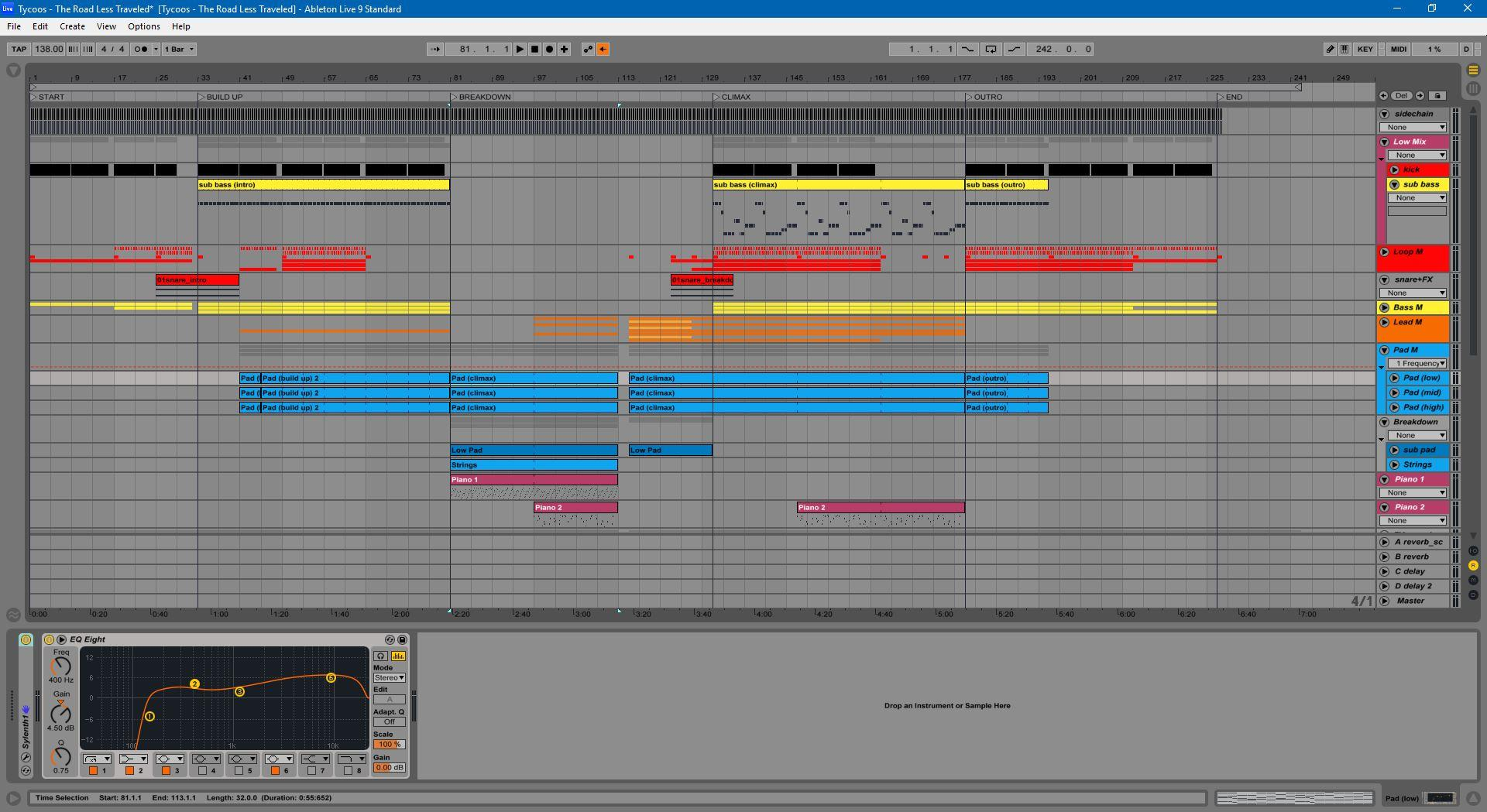 Uplifting Trance Template For Ableton Live By Tycoos Myloops