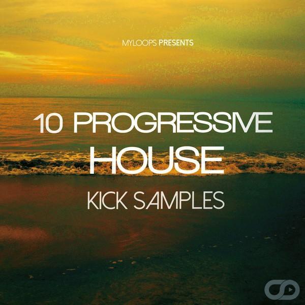 Amazing Free House Samples #10: 10 Free Progressive House Kicks