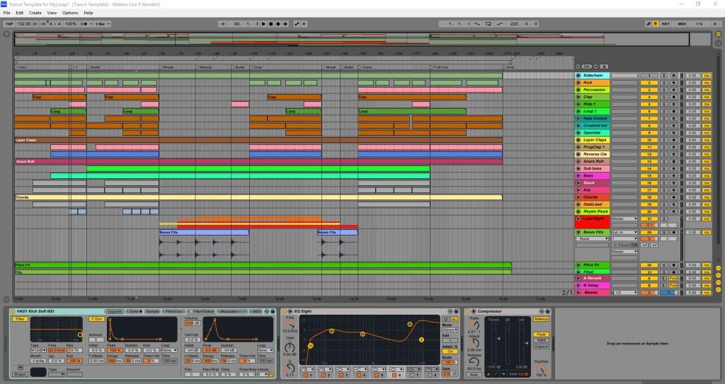big-room-trance-template-for-ableton-live-arrangement