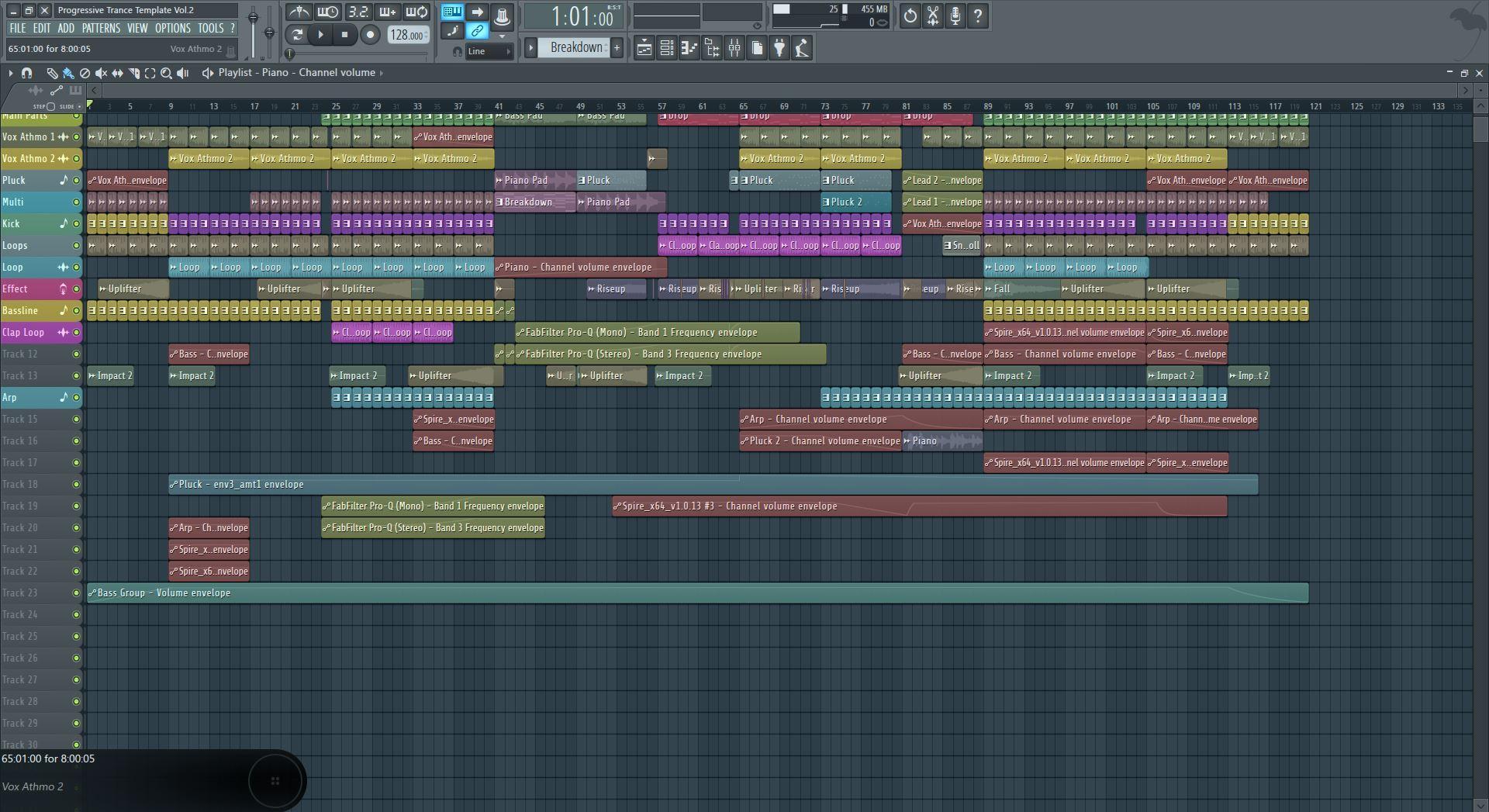 Прогрессив транс в фл студио