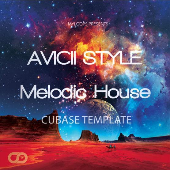 Avicii-style-melodic-house-cubase-template