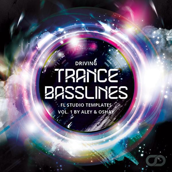 Driving Trance Basslines Vol  1 For FL Studio