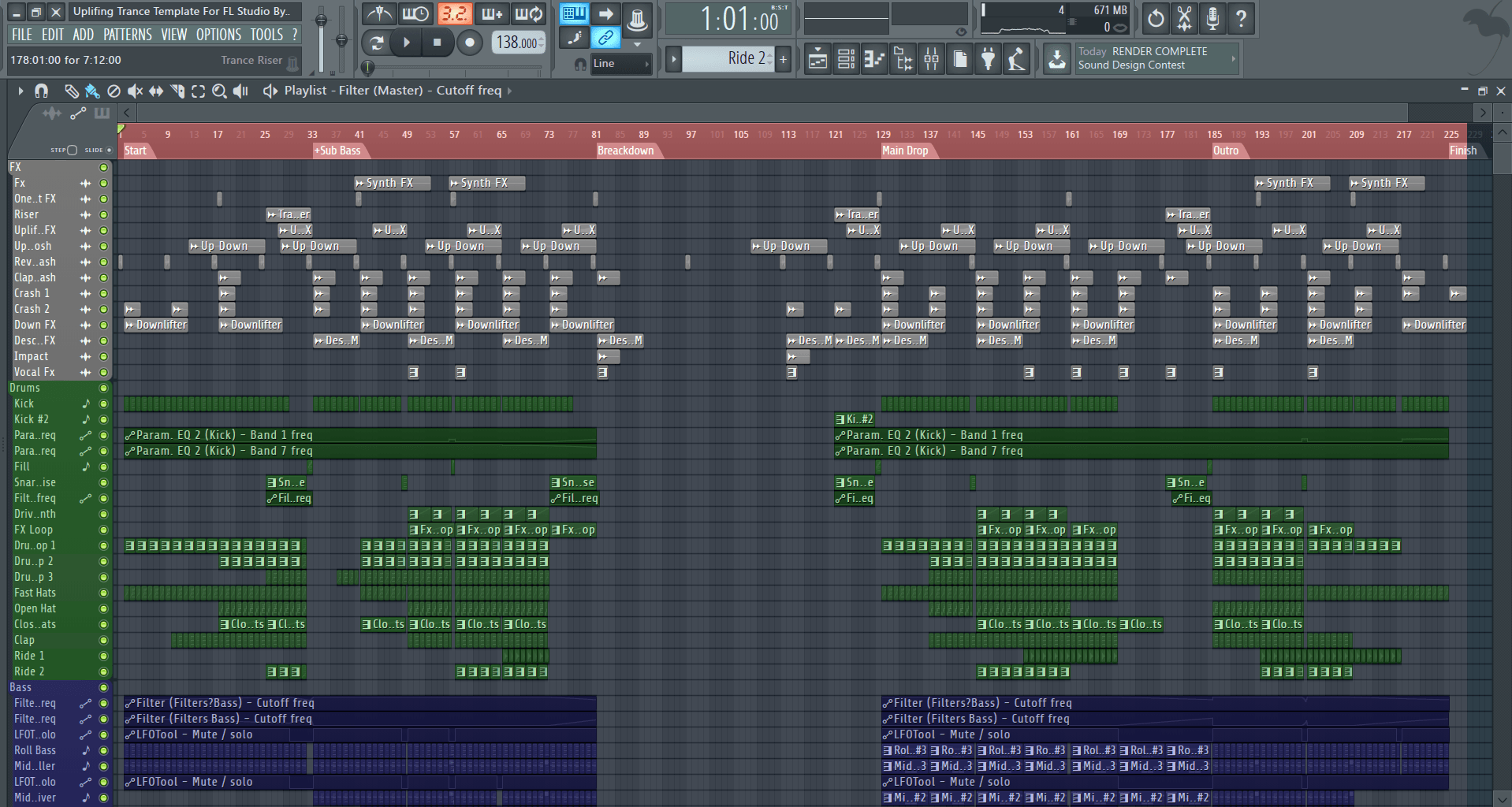 Uplifting-Trance-Template-For-FL-Studio-By-Nick-V-Screenshot