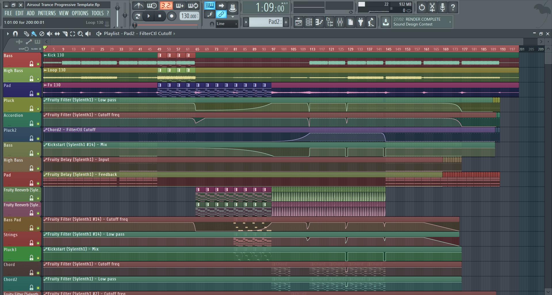 Airsoul-Progressive-Trance-Template-screenshot