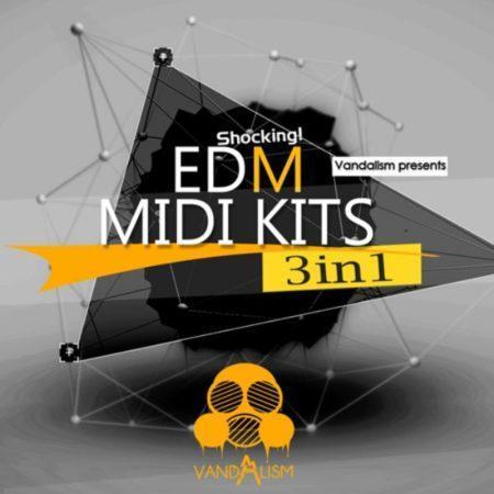 Shocking EDM MIDI Kits 3in1 by Vandalism