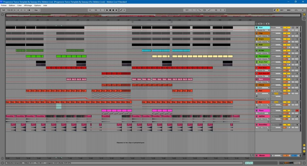 Progressive Trance Template By Seawayz (For Ableton Live) - Myloops