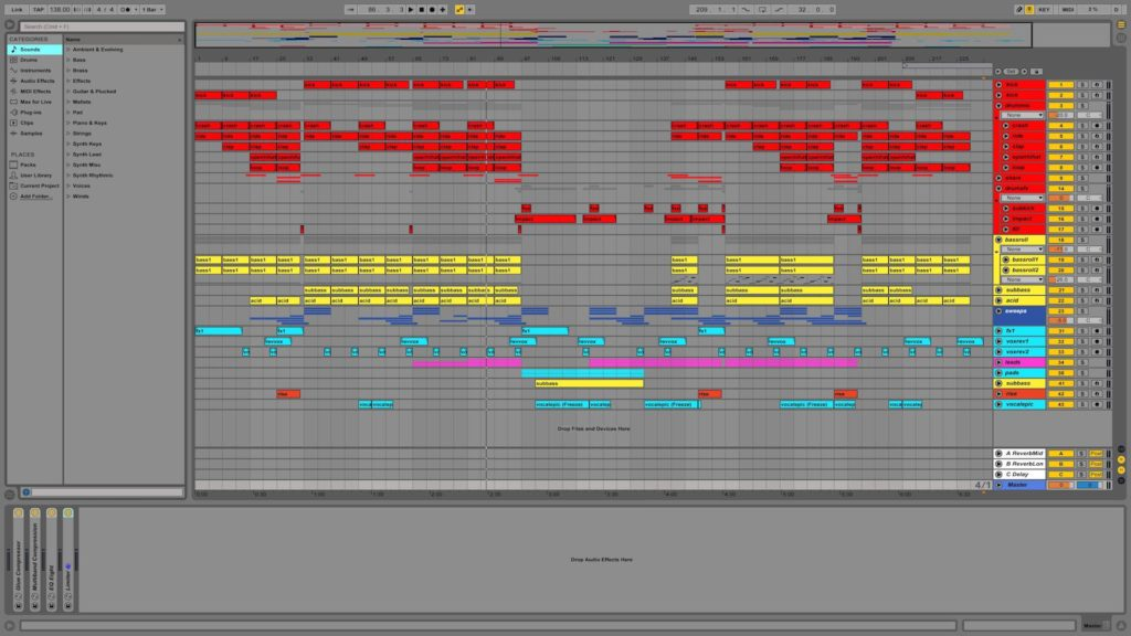 Epic Classic Uplifting Trance - ABLETON LIVE Template