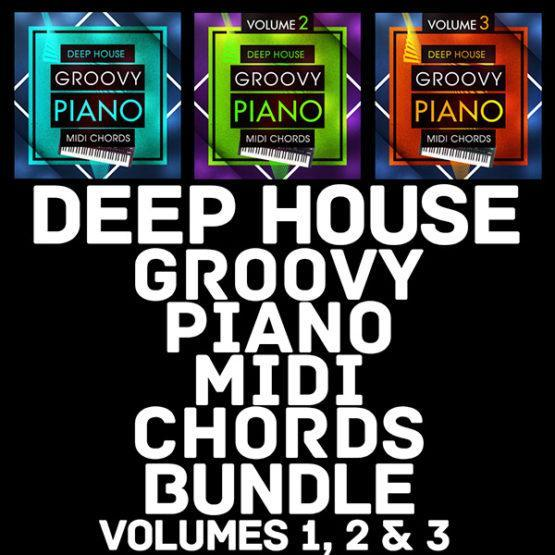 Deep House Groovy Piano MIDI Chords Bundle [1000x1000]