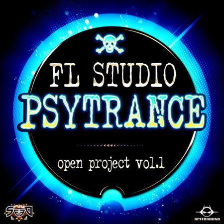 FL Studio - Psytrance Open Project Vol.1