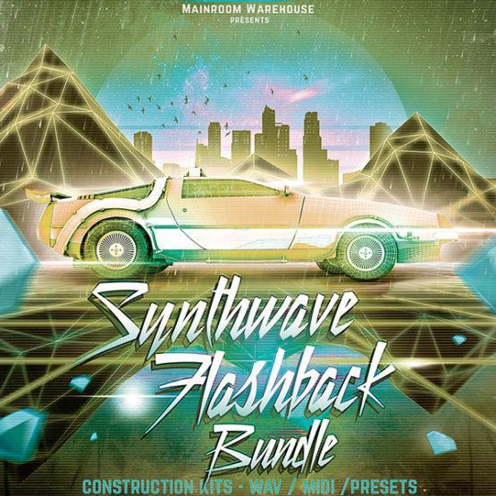 Synthwave Flashback Bundle Sample Packs Mainroom Warehouse