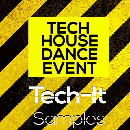 TIS021 Tech It Samples - Tech House Dance Event