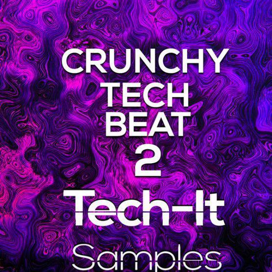 TIS025 Tech It Samples - Crunchy Tech Beat 2