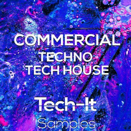TIS033 Tech It Samples - Commercial Techno & Tech House