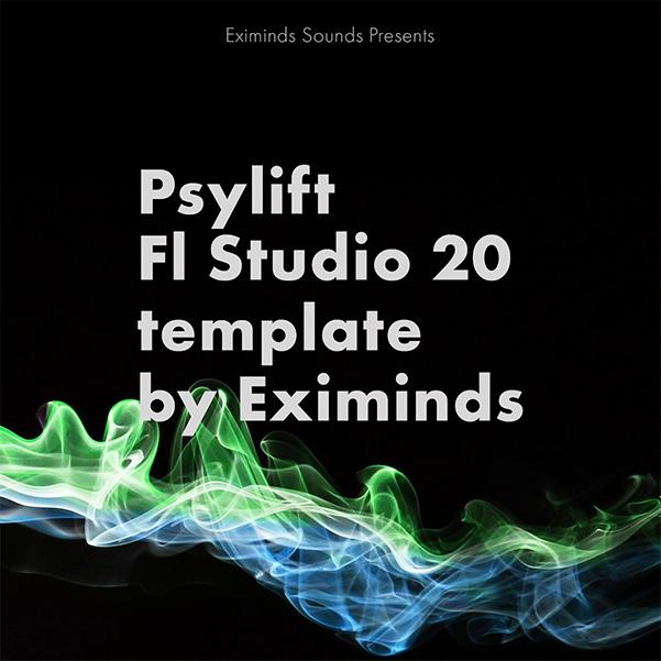 Psylift FL Studio 20 Template By Eximinds
