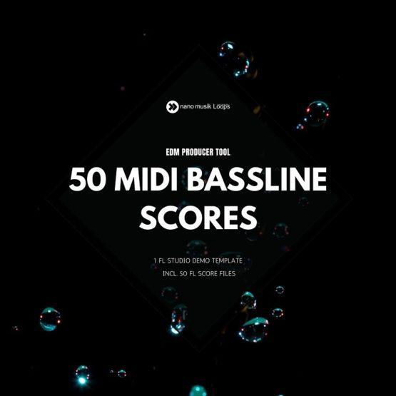 50 MIDI Bassline Scores