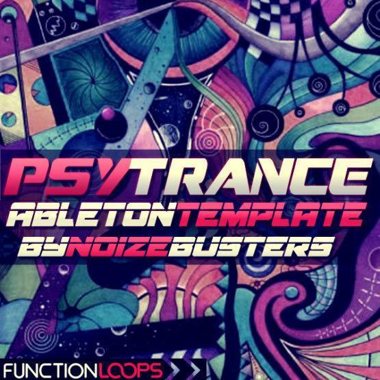 Psytrance Ableton Template by Noizebusters
