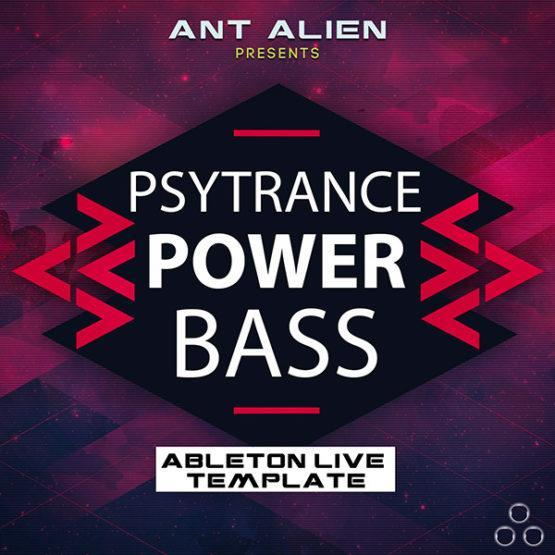 Psytrance Powerbass - Ableton Live Template by Speedsound