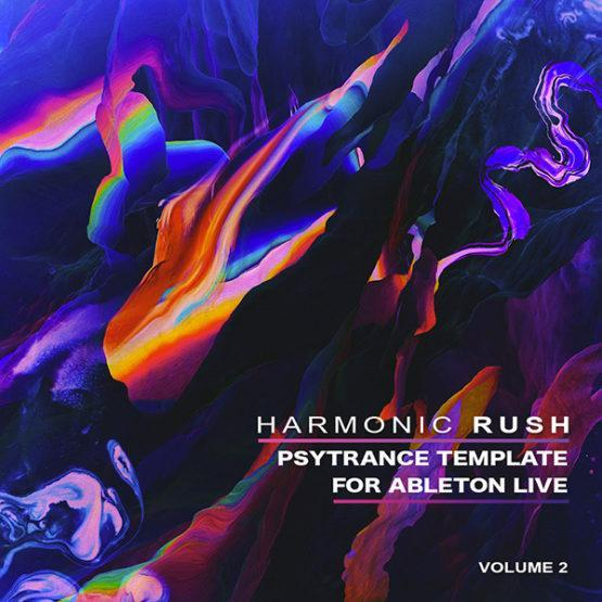 Harmonic Rush - Focus Ableton template