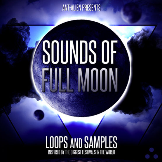 Ant-Alien - Sounds of Fullmoon Psy Trance Sample pack