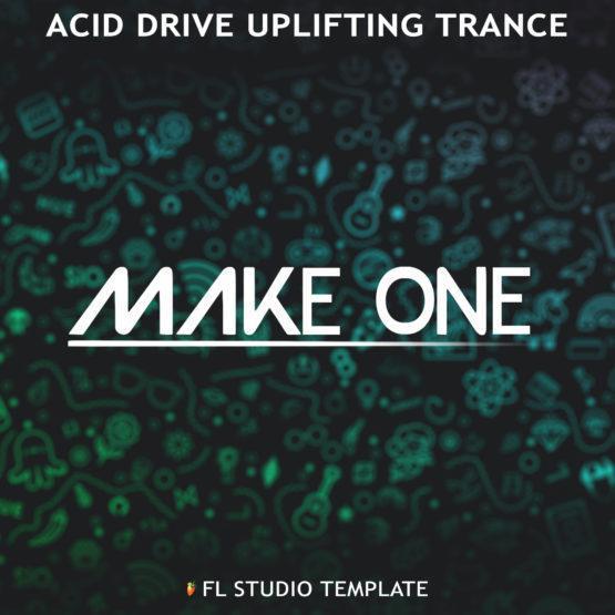 Make One Acid Drive Uplifting Trance cover