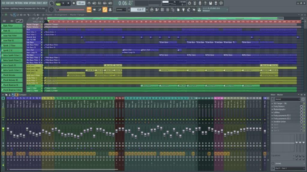Tau-Rine - Uplifting Trance Template Vol. 1 (For FL Studio) screenshot