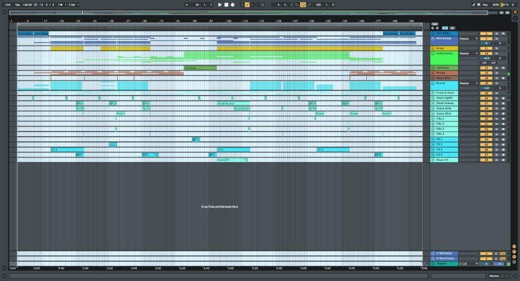 Tau-Rine - Uplifting Trance Template Vol. 2 (For Ableton Live) screenshot