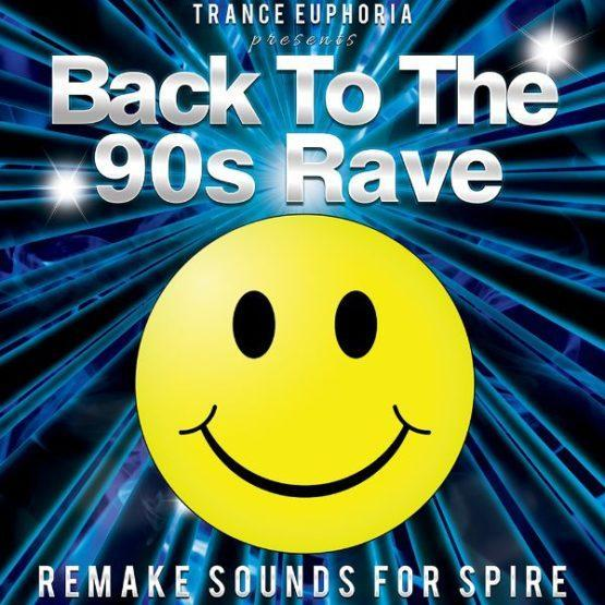 Back To The 90s Rave Remake Sounds For Spire [600x600]