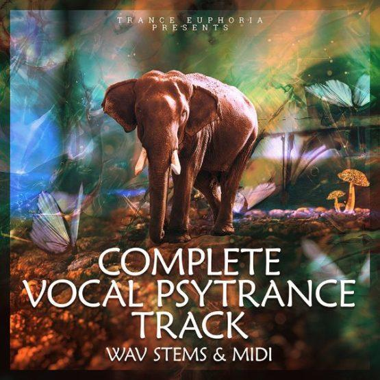 Complete Vocal Psytrance Track Wav Stems And MIDI [600x600]