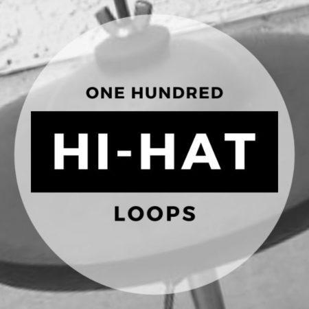 One Hundred Hi-Hat Loops Sample Pack D-Fused Sounds