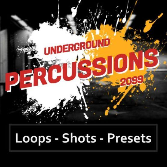 Underground Percussions 2099 Sample Pack D-Fused Sounds