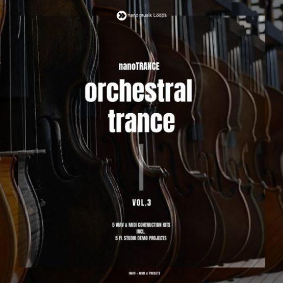 nanoTrance Orchestral Trance Vol 3 600