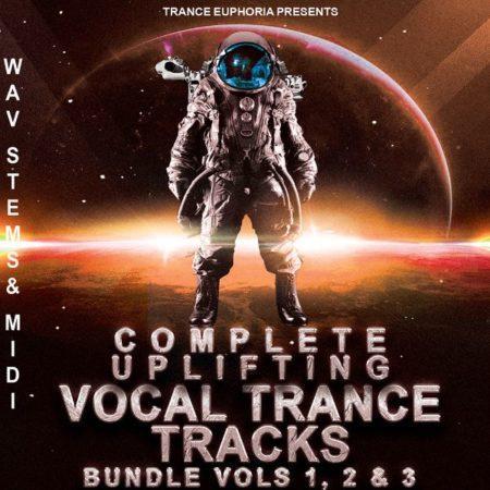Complete Trance Track Wav Stems & MIDI Bundle Vols 1 2 & 3 [600x600]