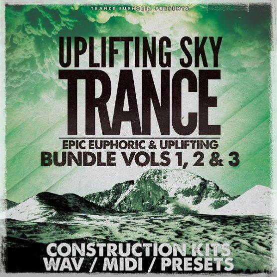 Uplifting Sky Trance Bundle Vols 1 2 & 3 [600x600]