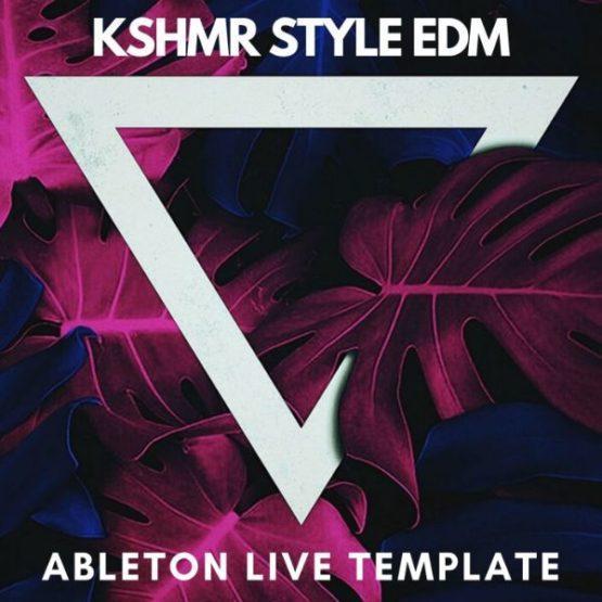KSHMR Style Edm Ableton Live Template
