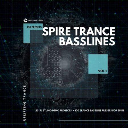 Spire Trance Basslines Vol 1 Soundbank By Nano Musik Loops (1)