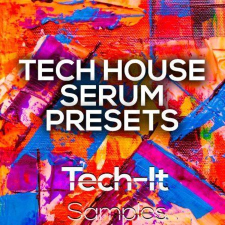 TIS091 Tech It Samples - Tech House Serum Presets
