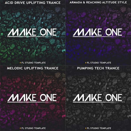 make-one-4-in-1-fl-studio-templates-pack