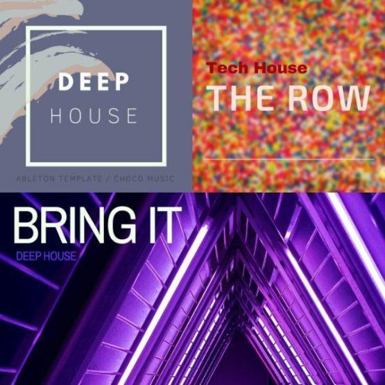 Ableton Deep-Tech House Bundle (3 in 1)