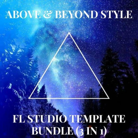 Above & Beyond Style Trance FL Studio Template Bundle Vol. 1 (3 in 1)