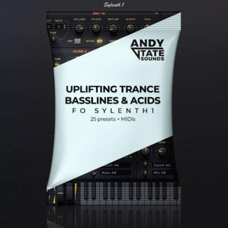 Andy Tate Sounds - Uplifting Trance Bassline & Acids