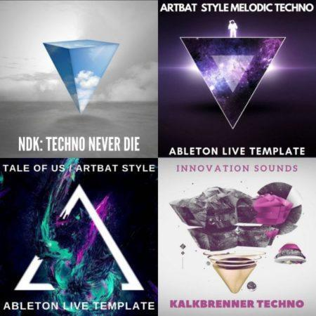 Extreme Techno Offer (10 Techno Sample Packs + 3 Premium Techno Ableton Live Templates)