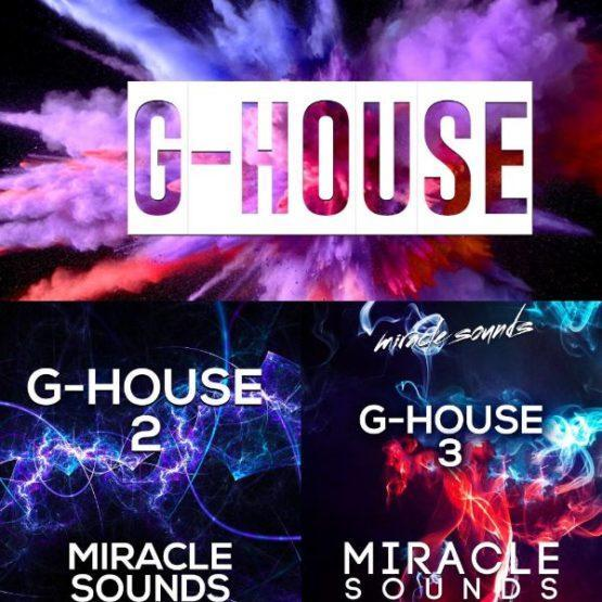 MS086 Miracle Sounds - G House BUNDLE