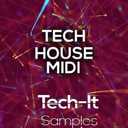 TIS098 Tech It Samples - Tech House MIDI's