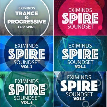 Ultimate 6 in 1 Spire Presets by Eximinds + Fl Studio Project